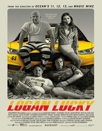 Logan Lucky 2017 Hindi Dubbed 720p BluRay x264