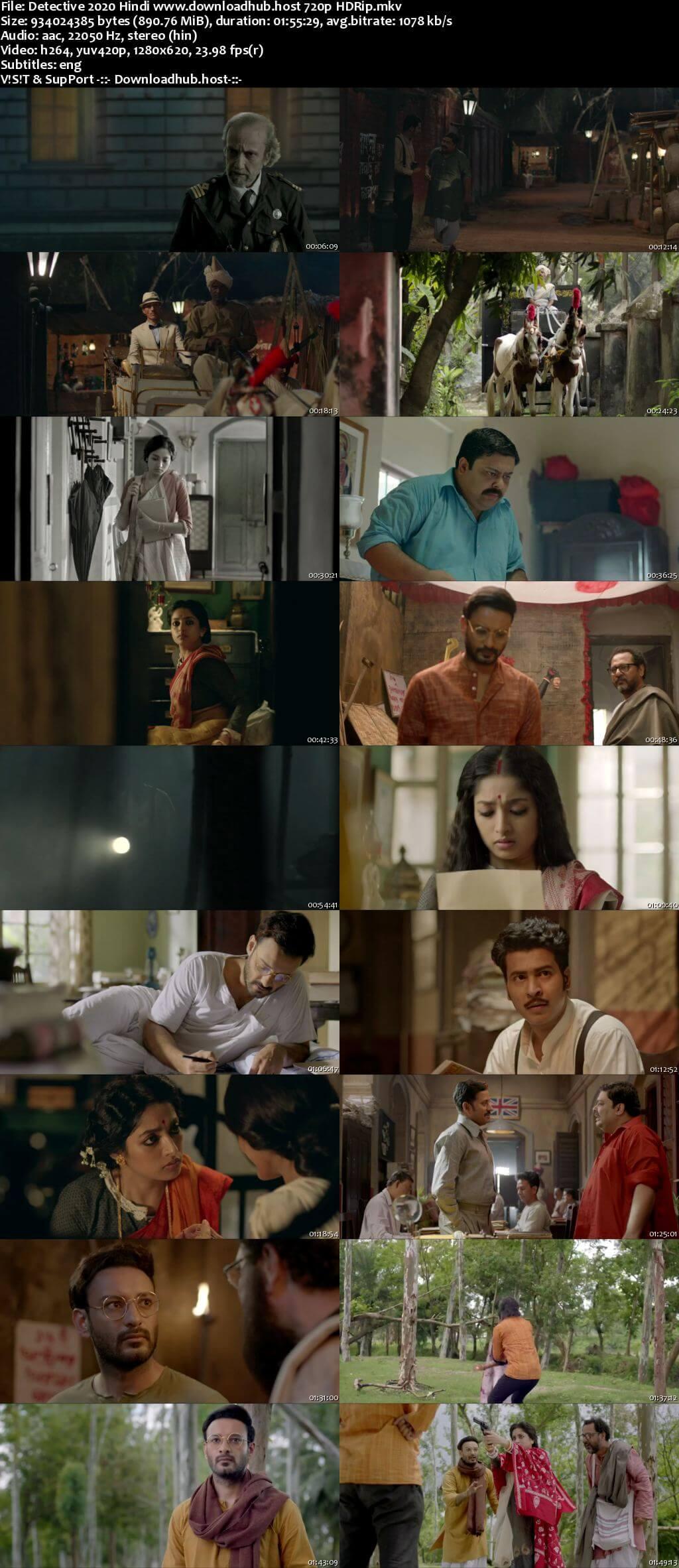 Detective 2020 Hindi 720p HDRip x264
