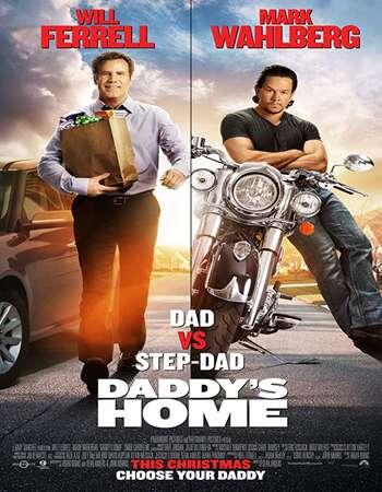 Daddys Home 2015 Hindi Dual Audio BRRip Full Movie 480p Download