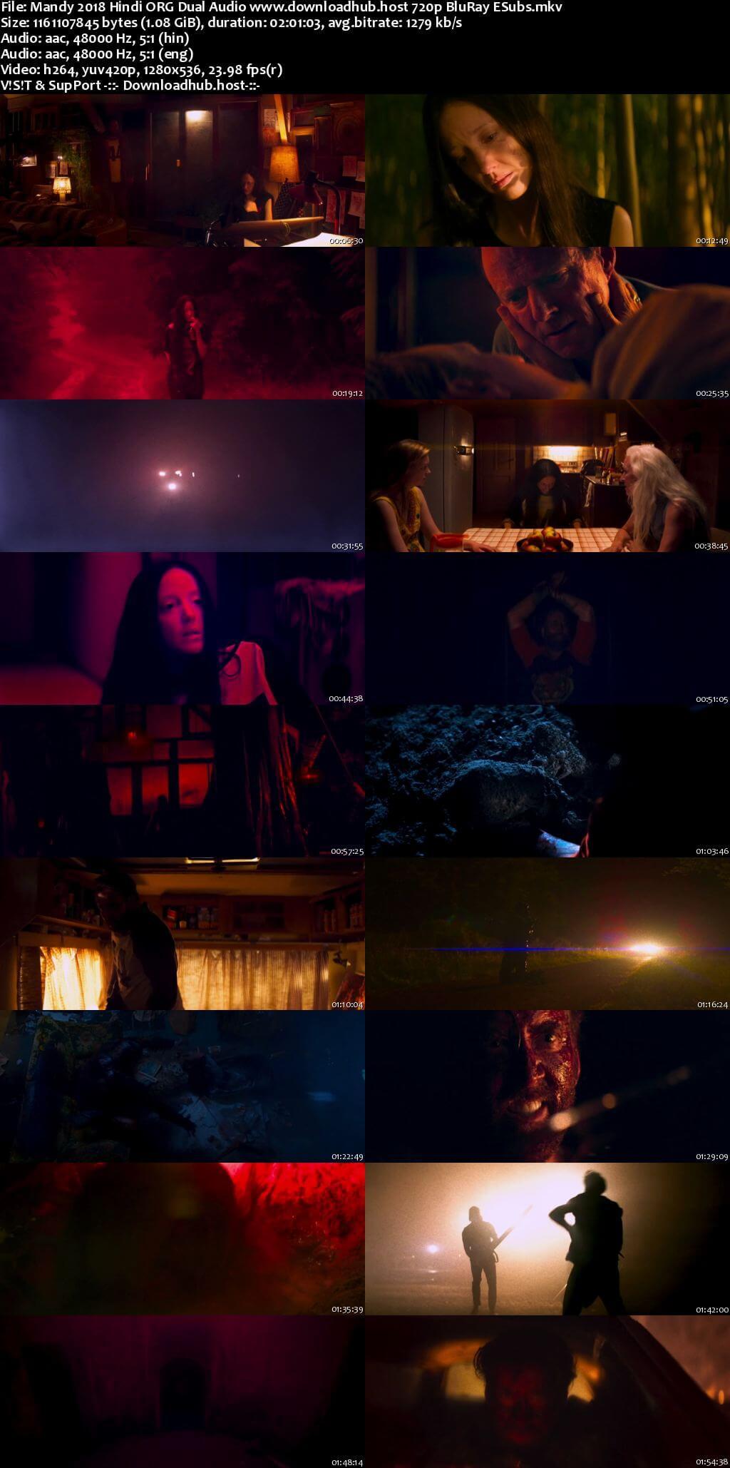 Mandy 2018 Hindi ORG Dual Audio 720p BluRay ESubs