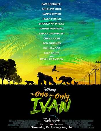 The One and Only Ivan 2020 Full English Movie 480p Download