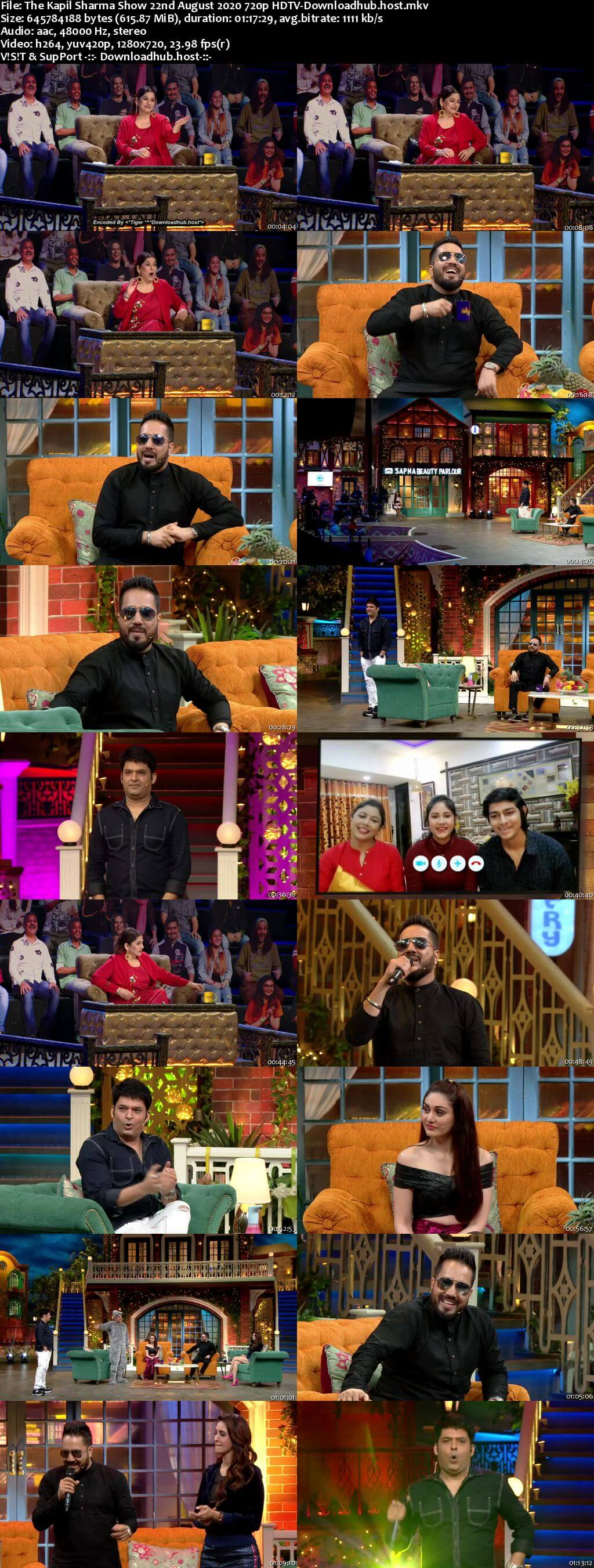 The Kapil Sharma Show 22 August 2020 Episode 134 HDTV 720p 480p
