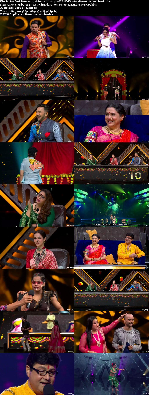 Indias Best Dancer 23 August 2020 Episode 22 HDTV 480p