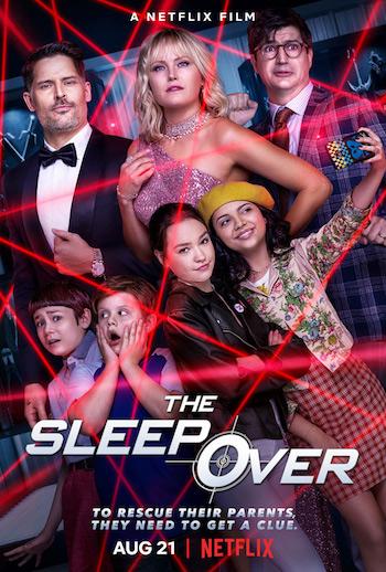 The Sleepover 2020 Dual Audio Hindi 720p WEB-DL 850mb