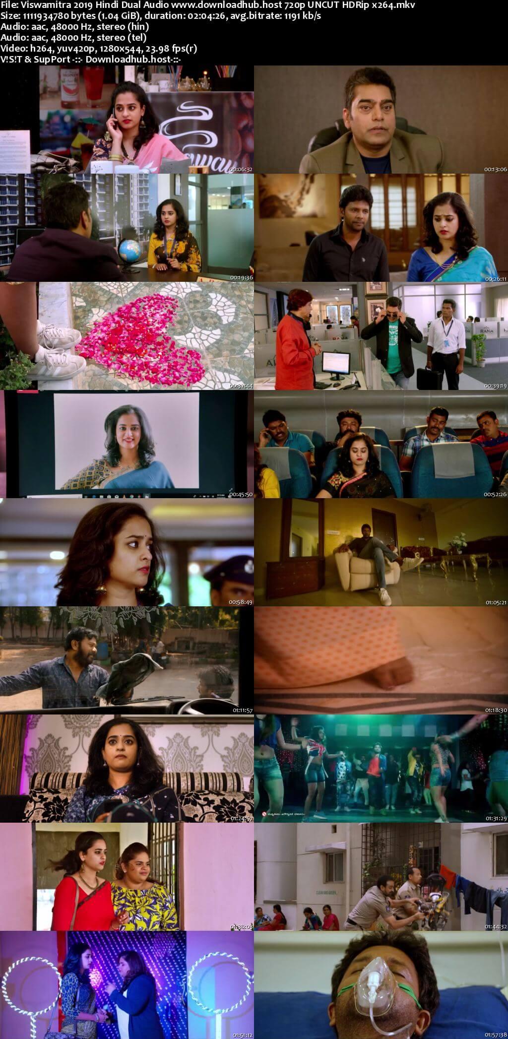 Viswamitra 2019 Hindi Dual Audio 720p UNCUT HDRip x264