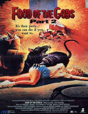 Food of the Gods II 1989 Hindi Dual Audio WEBRip Full Movie Download