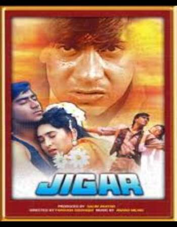 Jigar 1992 Full Hindi Movie 720p HEVC HDRip Download