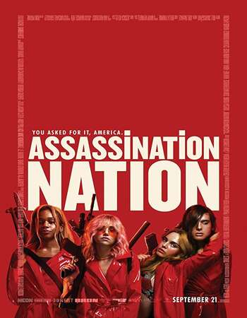 Assassination Nation 2018 Hindi Dual Audio BRRip Full Movie 480p Download