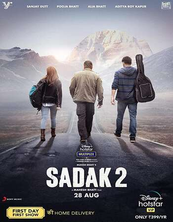 Sadak 2 2020 Hindi 1080p HDRip ESubs