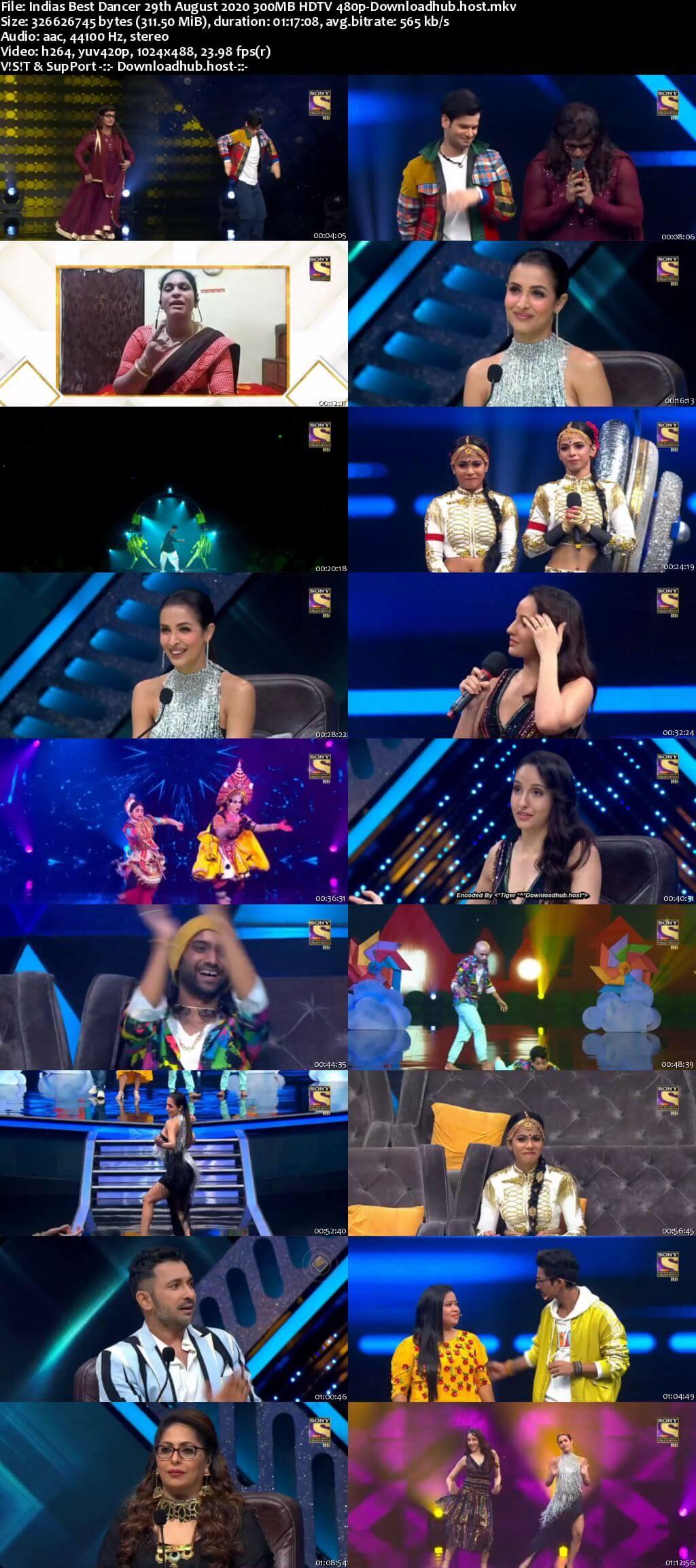 Indias Best Dancer 29 August 2020 Episode 23 HDTV 480p