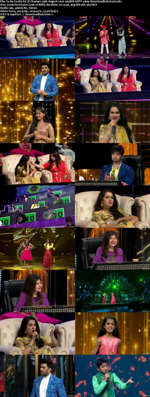 Sa Re Ga Ma Pa Lil Champs 29 August 2020 Episode 21 HDTV 480p