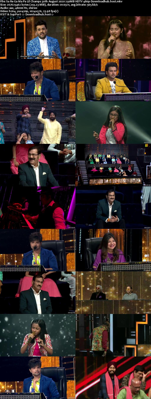 Sa Re Ga Ma Pa Lil Champs 30 August 2020 Episode 22 HDTV 480p