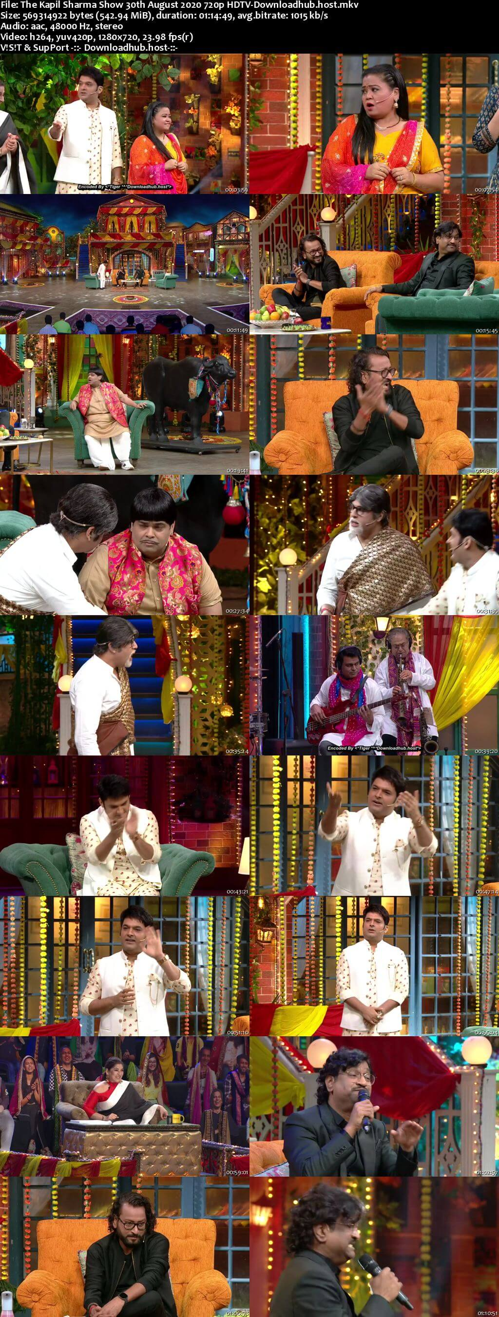 The Kapil Sharma Show 30 August 2020 Episode 137 HDTV 720p 480p