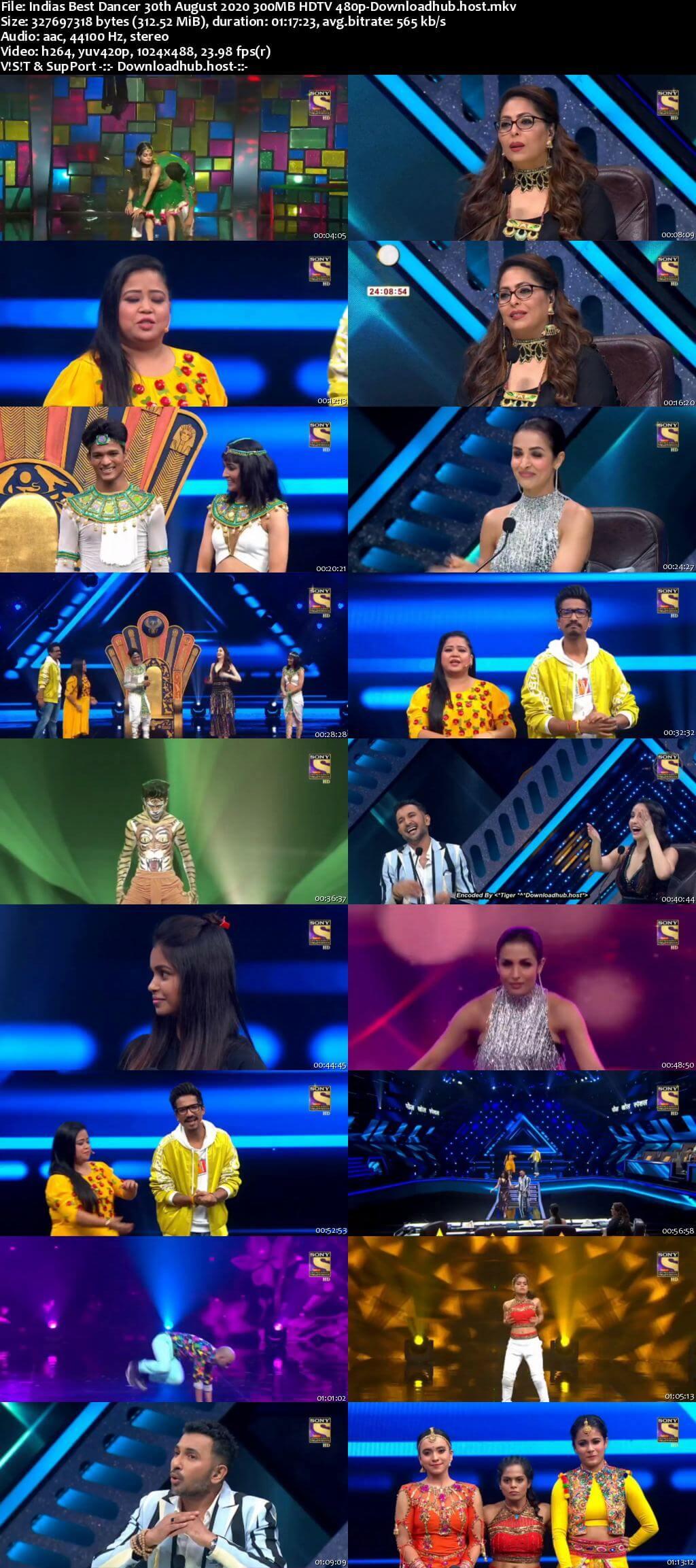 Indias Best Dancer 30 August 2020 Episode 24 HDTV 480p