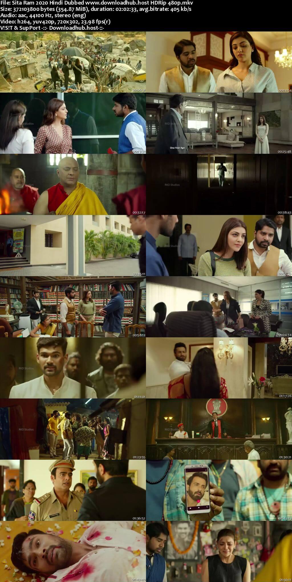 Sita Ram 2020 Hindi Dubbed 350MB HDRip 480p