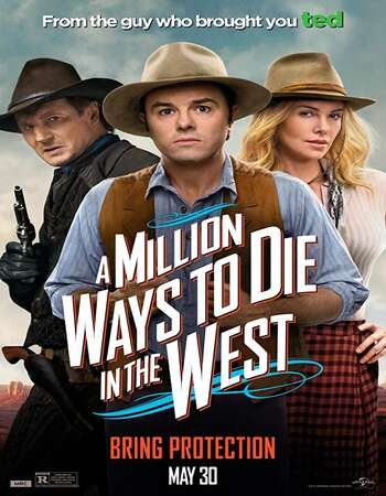 A Million Ways to Die in the West 2014 Hindi Dual Audio BRRip Full Movie 480p Download