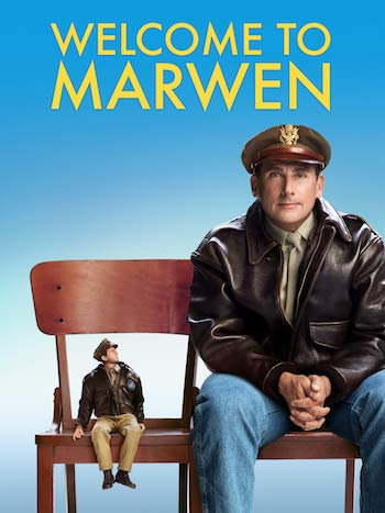 Welcome to Marwen 2018 Dual Audio Hindi 480p BluRay 350mb