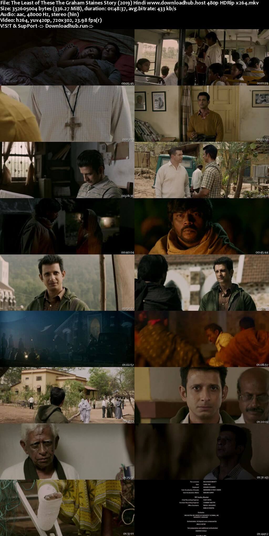 The Least of These The Graham Staines Story 2019 Hindi 300MB HDRip 480p