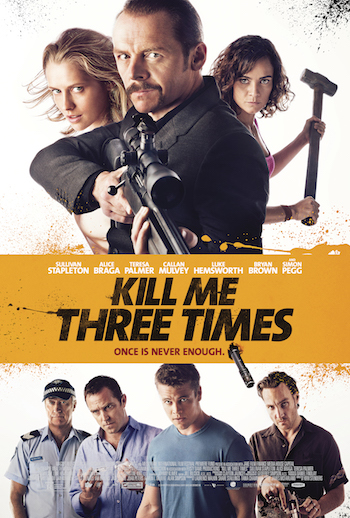 Kill Me Three Times 2014 Dual Audio Hindi English BRRip 720p 480p Movie Download