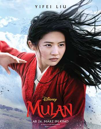 Mulan 2020 Hindi ORG Dual Audio 650MB BluRay 720p ESubs HEVC