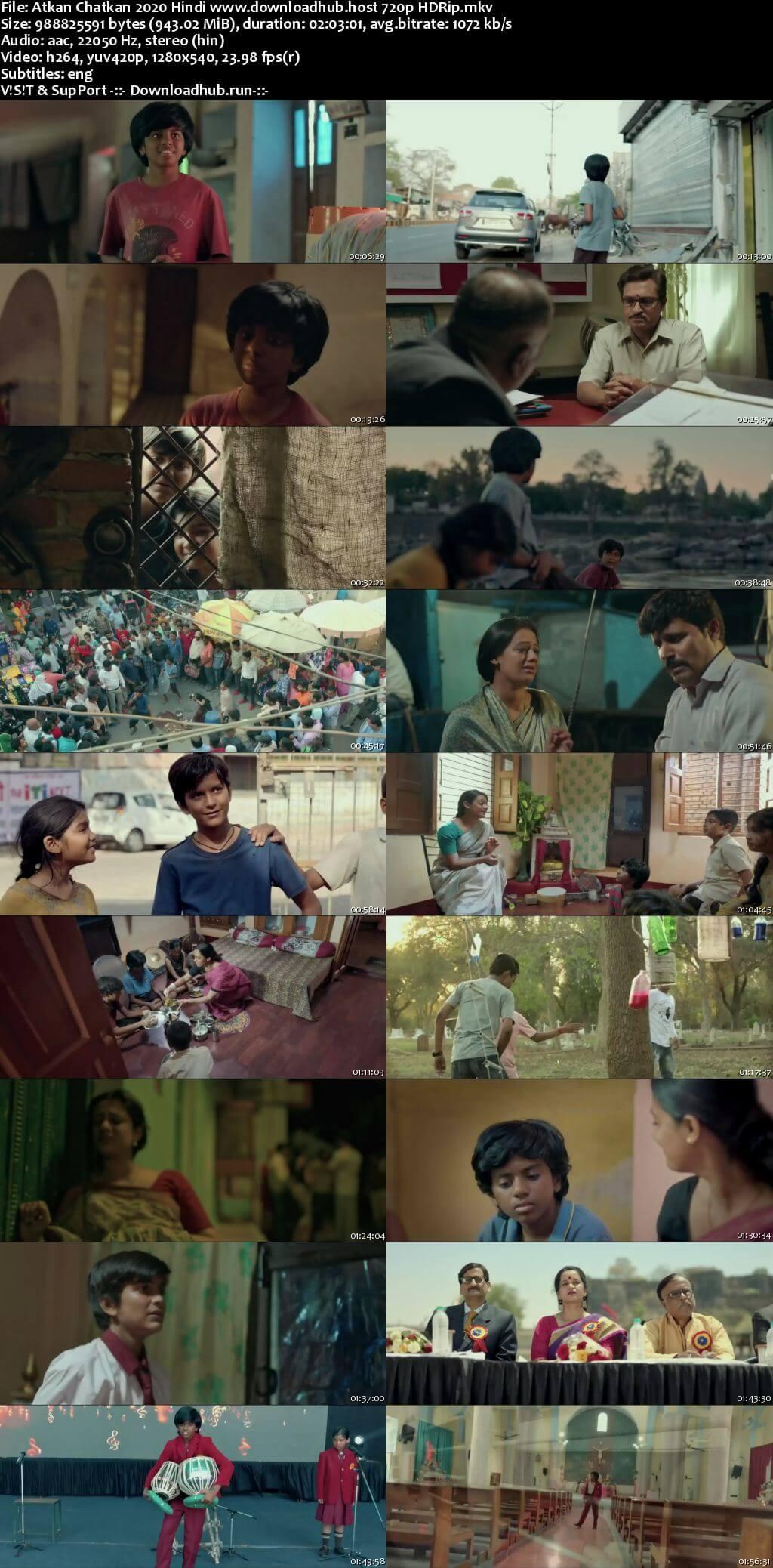 Atkan Chatkan 2020 Hindi 720p HDRip ESubs