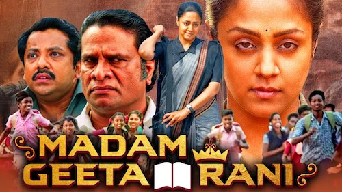 Madam Geeta Rani Raatchasi 2020 Hindi Dubbed Full Movie 480p Download