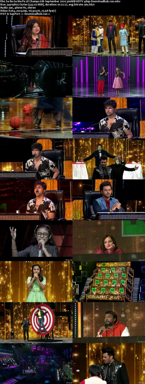 Sa Re Ga Ma Pa Lil Champs 06 September 2020 Episode 24 HDTV 480p