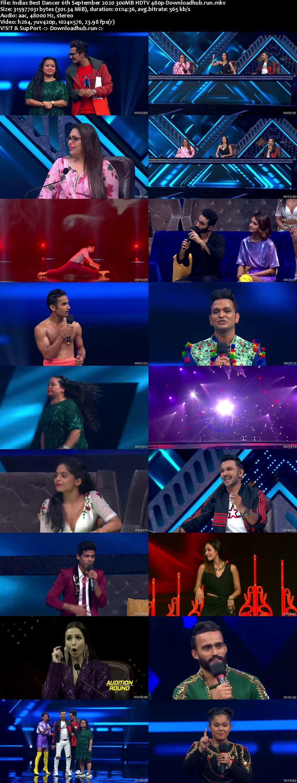 Indias Best Dancer 06 September 2020 Episode 26 HDTV 480p