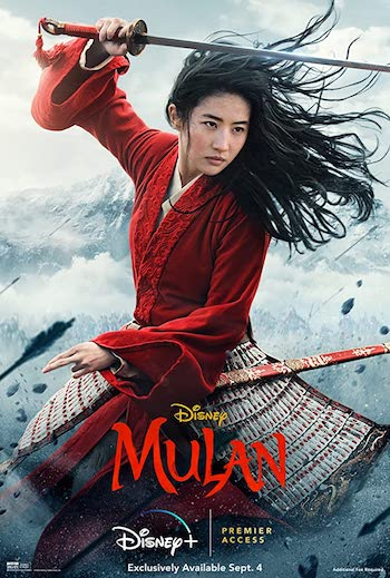 Mulan 2020 English 720p WEB-DL 850MB