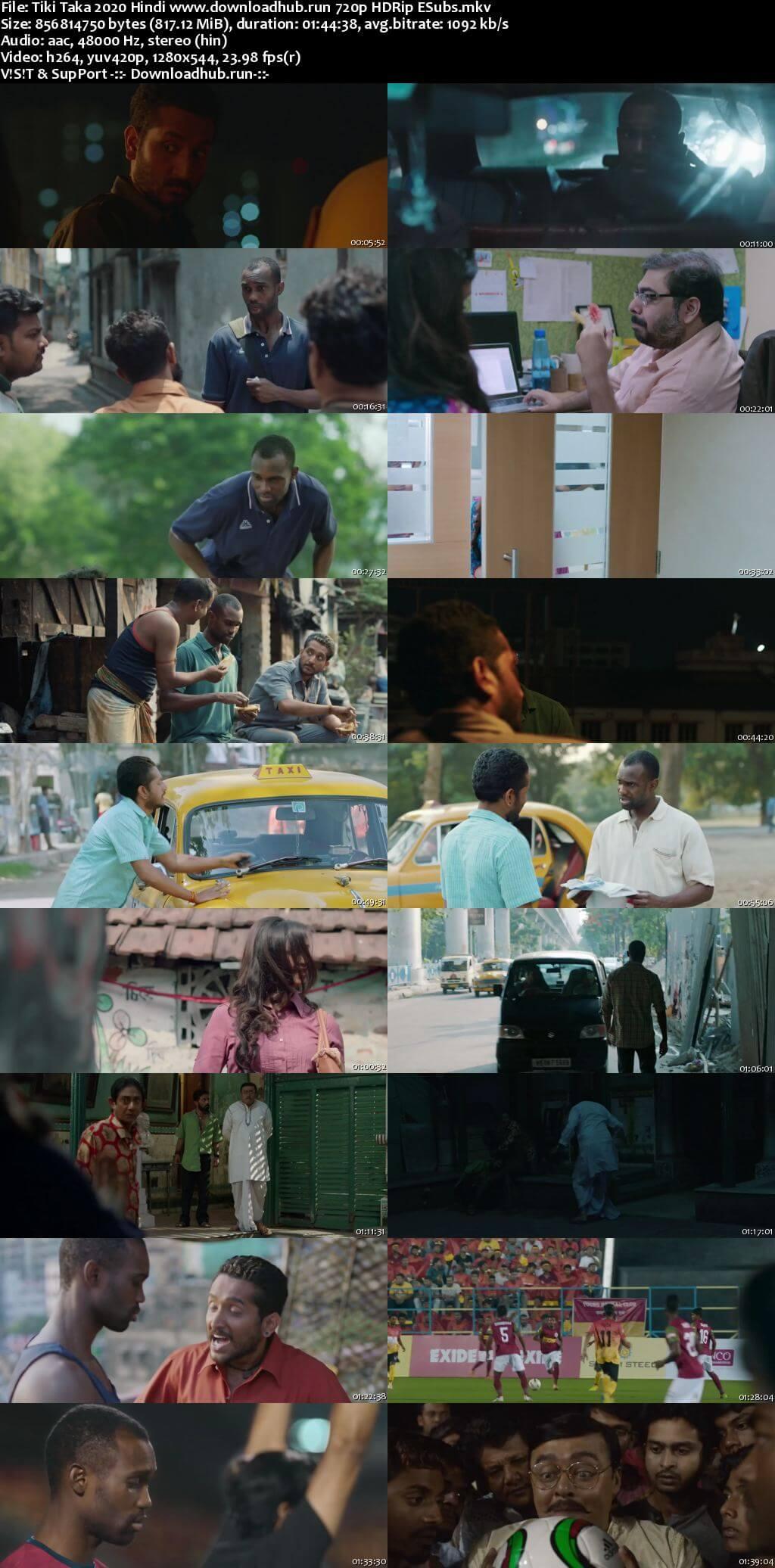 Tiki Taka 2020 Hindi 720p HDRip ESubs