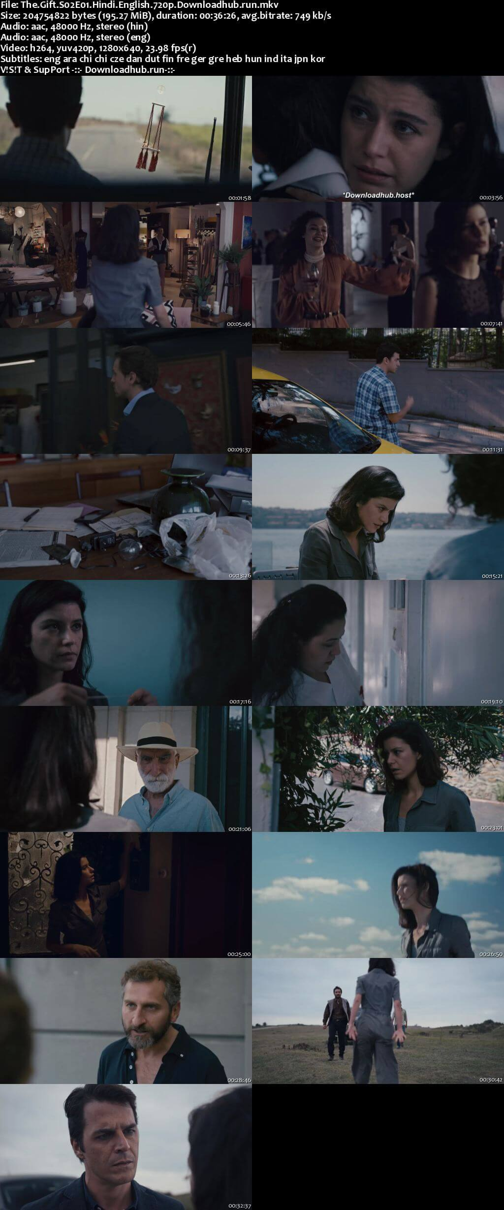 The Gift 2020 S02 Complete Hindi Dual Audio 720p Web-DL MSubs