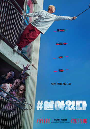 Alive 2020 English 720p WEB-DL 800MB ESubs