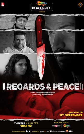 Regards And Peace 2020 Hindi 720p HDRip x264