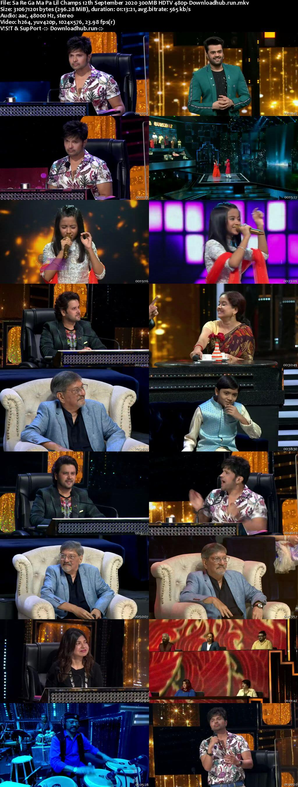 Sa Re Ga Ma Pa Lil Champs 12 September 2020 Episode 25 HDTV 480p