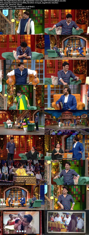 The Kapil Sharma Show 13 September 2020 Episode 141 HDTV 720p 480p