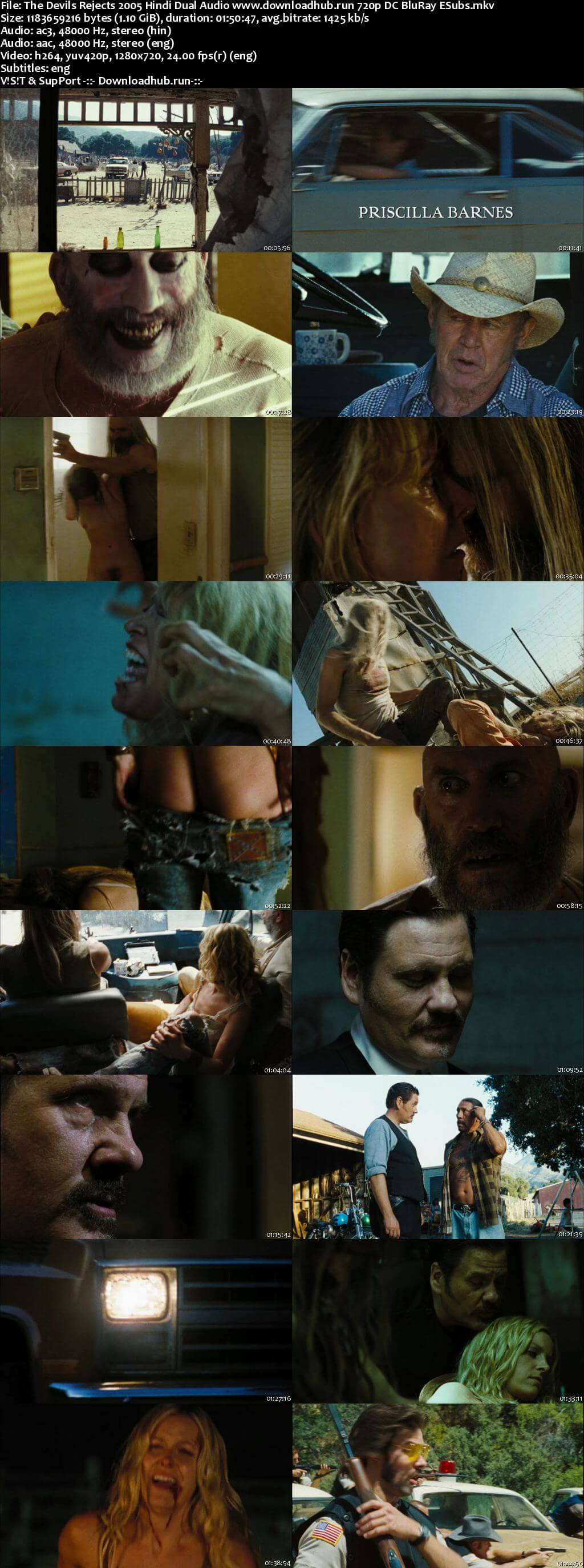 The Devils Rejects 2005 Hindi Dual Audio 720p DC BluRay ESubs