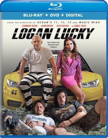 Logan Lucky 2017 Dual Audio Hindi 480p BluRay 350mb