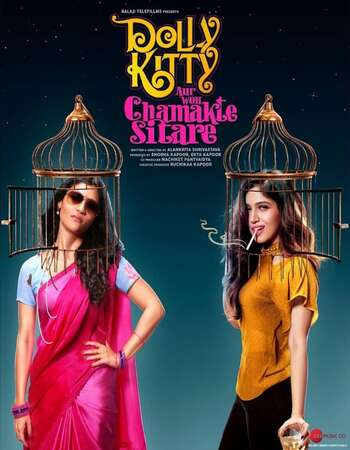 Dolly Kitty Aur Woh Chamakte Sitare 2020 Hindi 350MB HDRip 480p MSubs