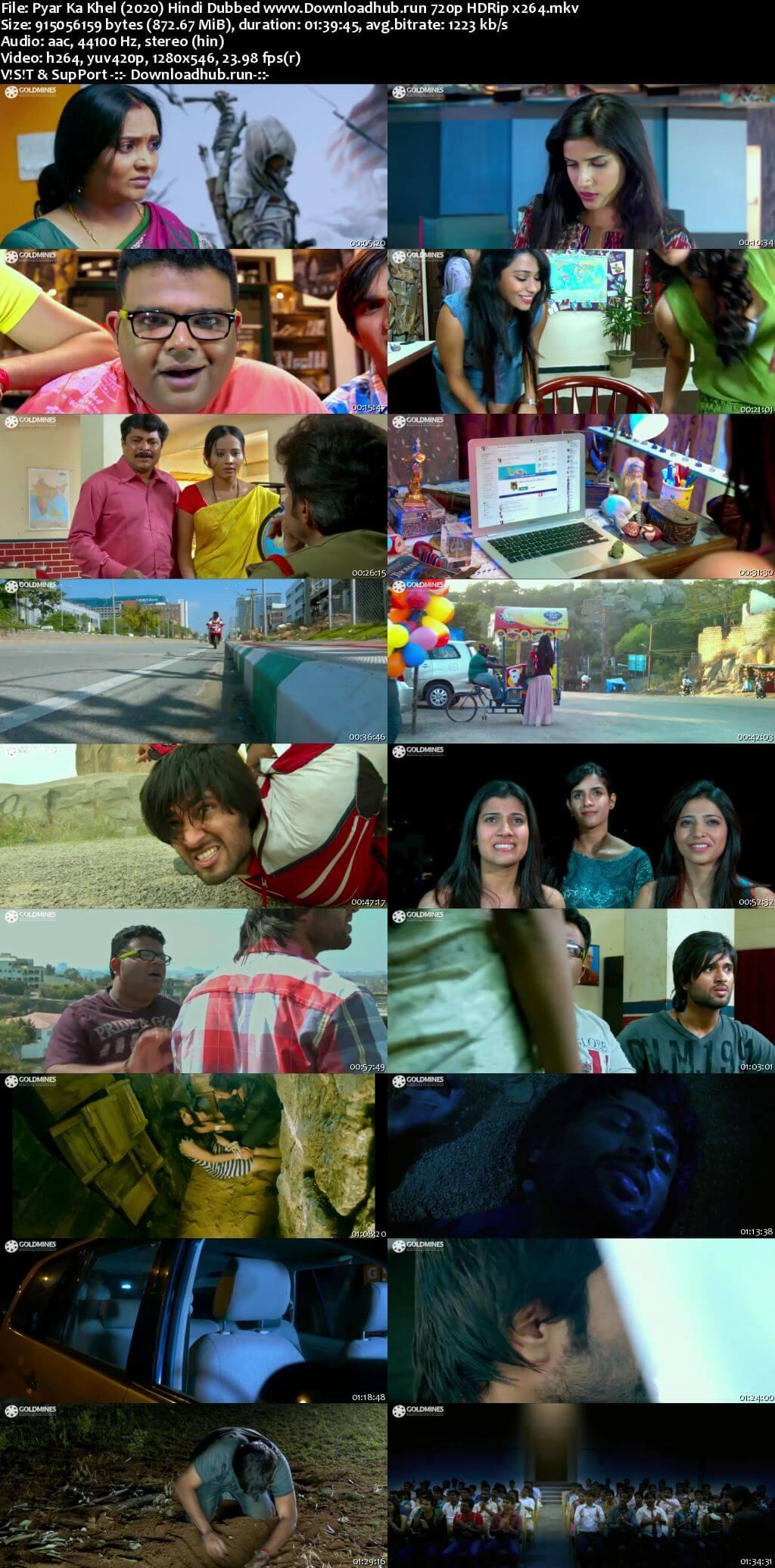 Pyar Ka Khel 2020 Hindi Dubbed 720p HDRip x264