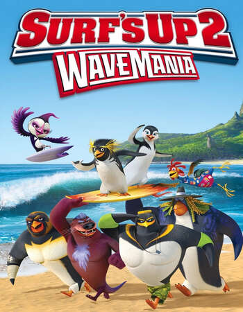 Surfs Up 2 WaveMania 2017 Hindi Dual Audio 280MB Web-DL 480p ESubs