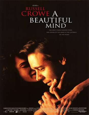 A Beautiful Mind 2001 Hindi Dual Audio 450MB BluRay 480p ESubs