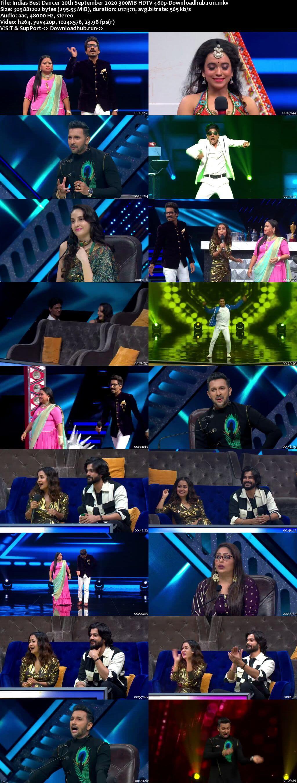 Indias Best Dancer 20 September 2020 Episode 30 HDTV 480p