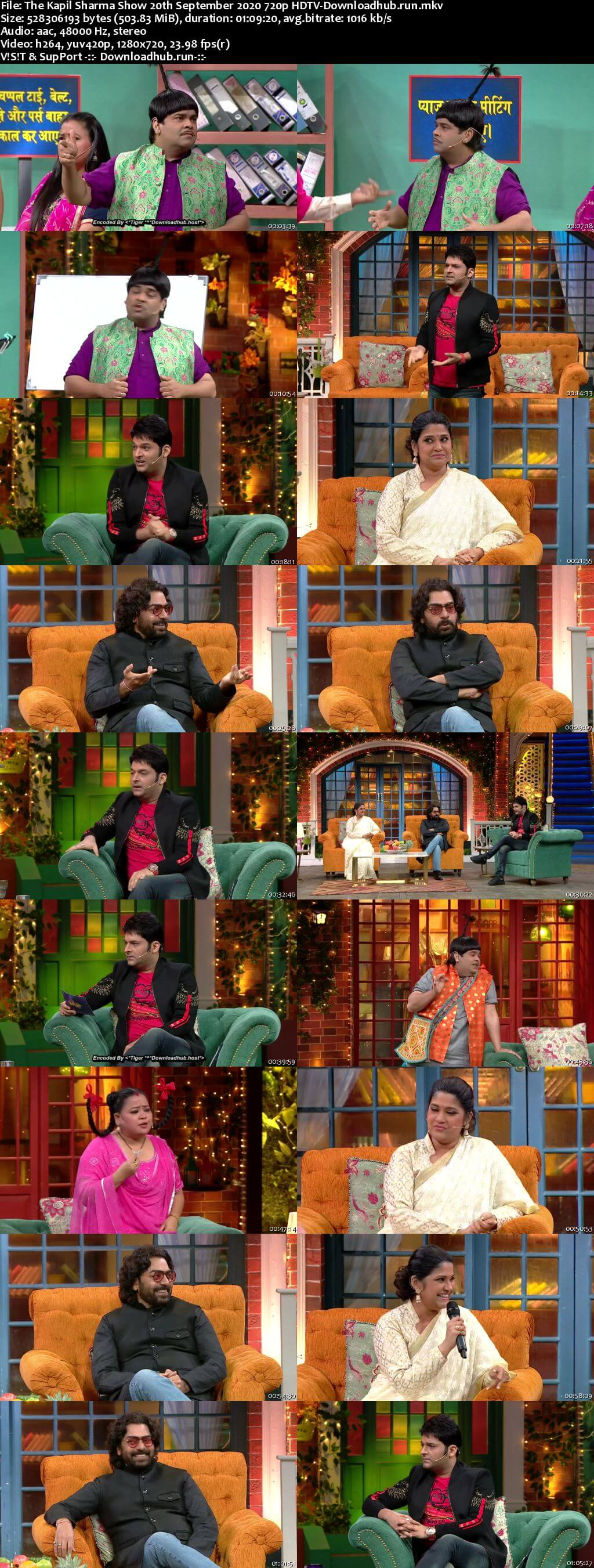 The Kapil Sharma Show 20 September 2020 Episode 143 HDTV 720p 480p