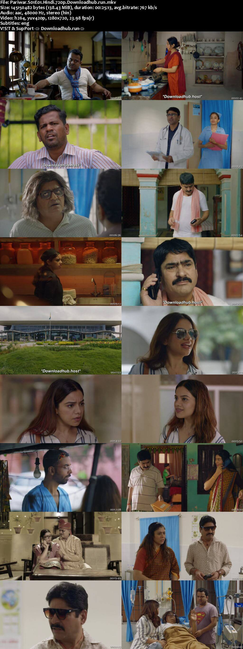 Pariwar 2020 Hindi Season 01 Complete 720p HDRip ESubs