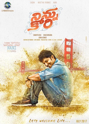 Ninnu Kori 2017 UNCUT Dual Audio Hindi 480p HDRip 400MB