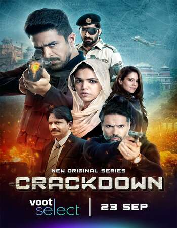 Crackdown 2020 Hindi S01 Complete 720p HDRip ESubs