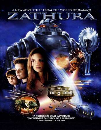 Zathura A Space Adventure 2005 Hindi Dual Audio 300MB BluRay 480p ESubs