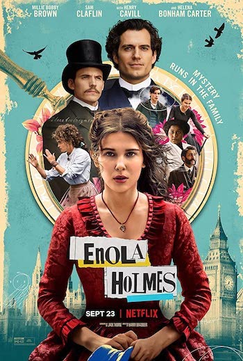 Enola Holmes 2020 Dual Audio Hindi 480p WEB-DL 350MB