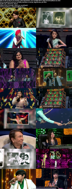 Sa Re Ga Ma Pa Lil Champs 26 September 2020 Episode 29 HDTV 480p