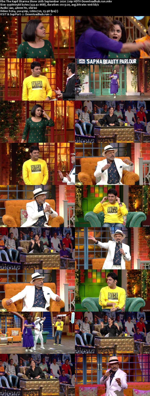 The Kapil Sharma Show 26 September 2020 Episode 144 HDTV 720p 480p